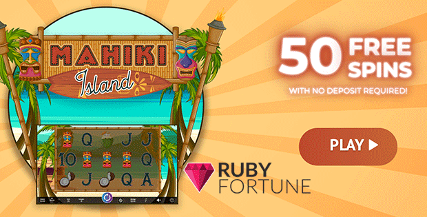 Ruby Fortune Casino 50 Free Spins